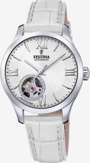 FESTINA Automatikuhr 'Automatik, F20490/1' in weiß, Produktansicht