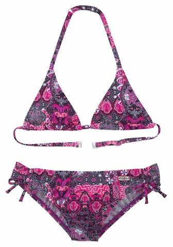 BUFFALO Bikiny - ružová