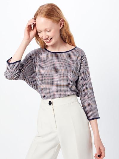 MORE & MORE Shirt in mischfarben / offwhite: Frontalansicht