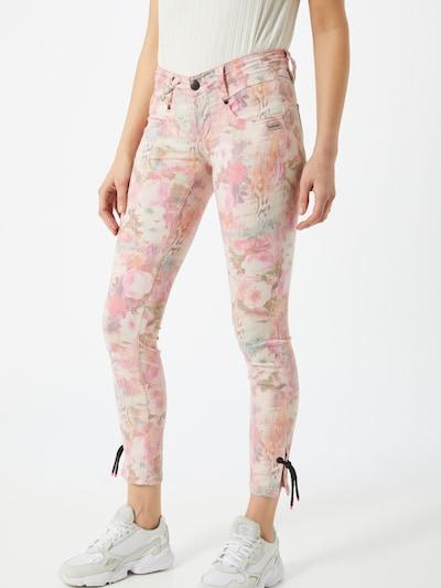 Gang Jean 'NENA' en mélange de couleurs / rose, Vue avec modèle