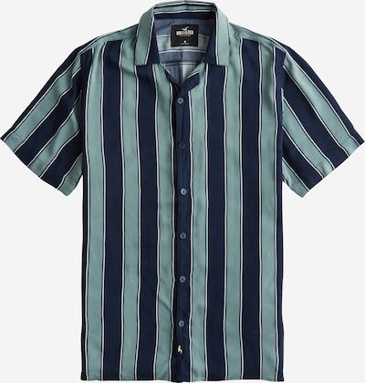 HOLLISTER Hemd  'RAYON' in blau / grün, Produktansicht