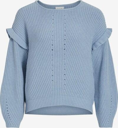 VILA Pullover in taubenblau, Produktansicht