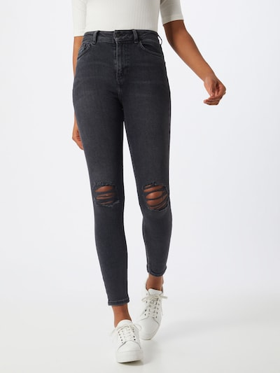 NEW LOOK Jeans 'DISCO' in black denim, Modelansicht