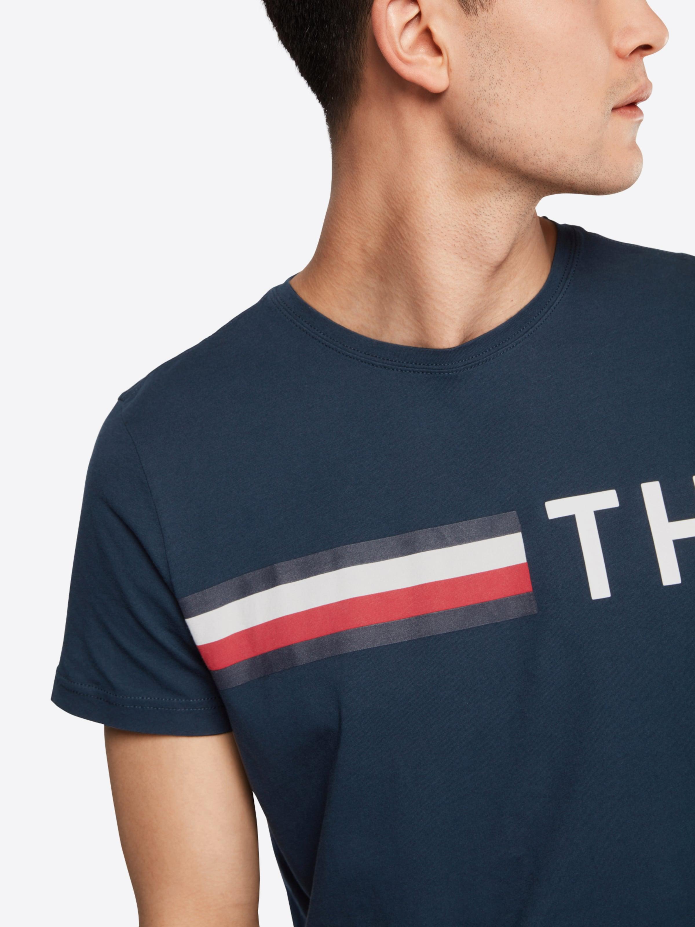 Rabatt 100% Garantiert TOMMY HILFIGER T-Shirt 'STRIPED LOGO GRAPHIC' Spielraum Marktfähig Günstiger Preis Verkauf Am Besten Mit Visum Günstigem Preis Zahlen dJjTSOm0