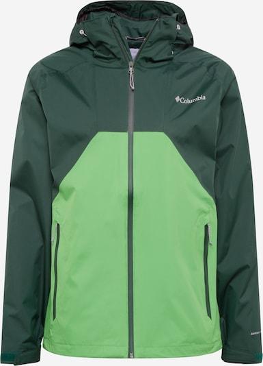 COLUMBIA Sportovní bunda 'Rain Scape' - světle zelená / tmavě zelená, Produkt