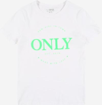 KIDS ONLY Tričko - svítivě zelená / bílá, Produkt