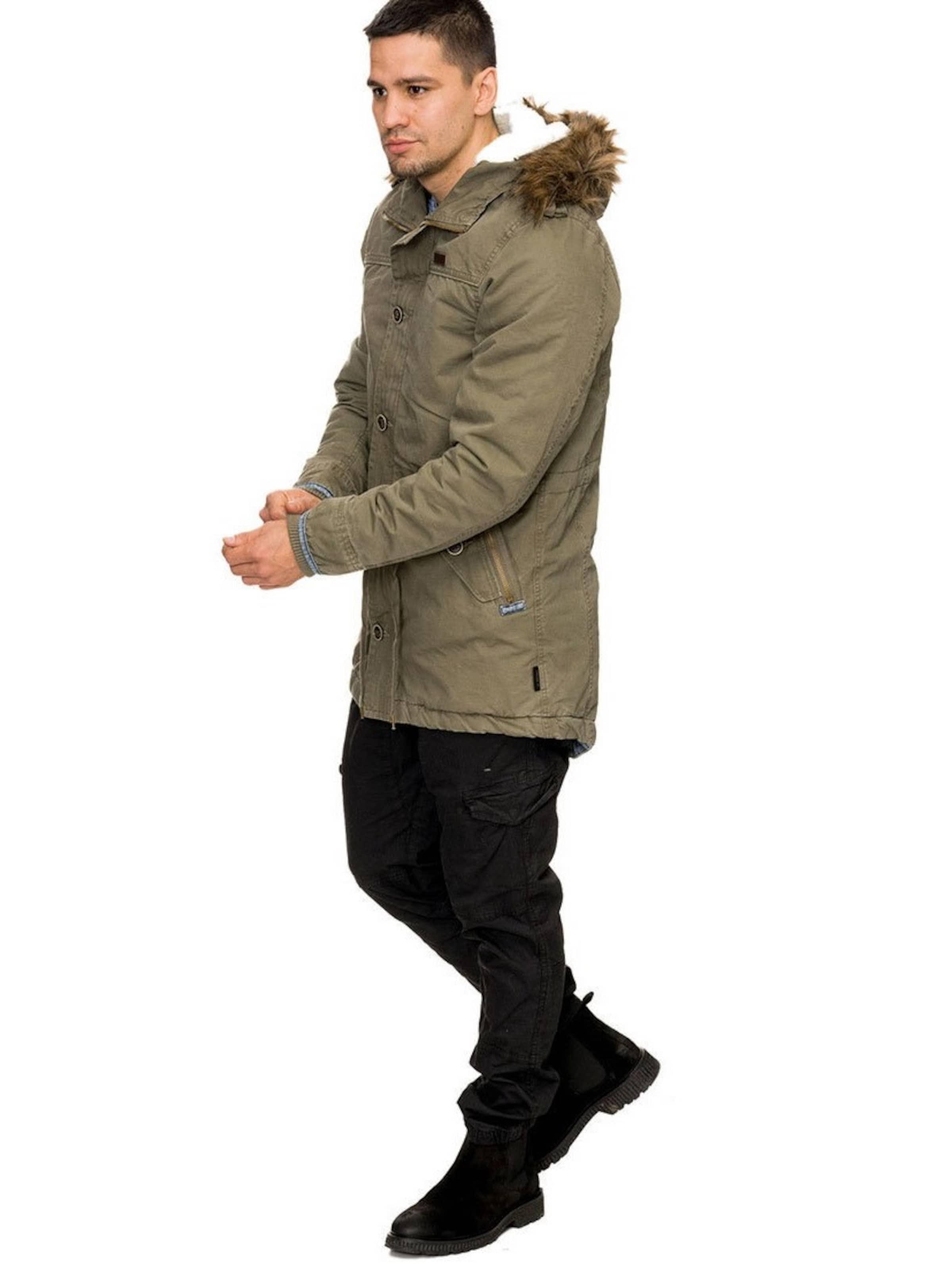 En Parka Olive Indicode Jeans D'hiver 2IDeWEH9Y