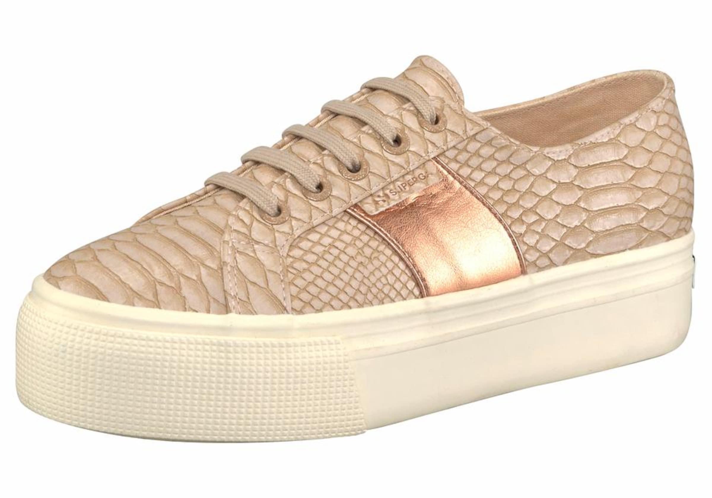 SUPERGA Sneaker PUSNAKEW Verschleißfeste billige Schuhe