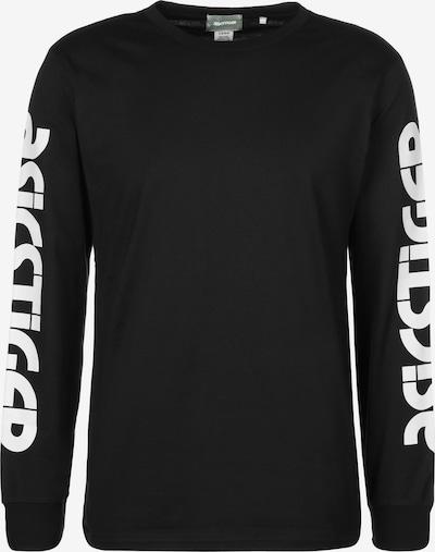 ASICS SportStyle Langarmshirt 'BL' in schwarz / weiß, Produktansicht