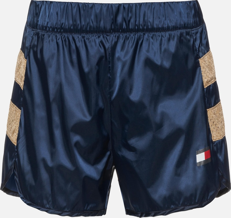 Tommy Sport Shorts in navy / gold, Produktansicht