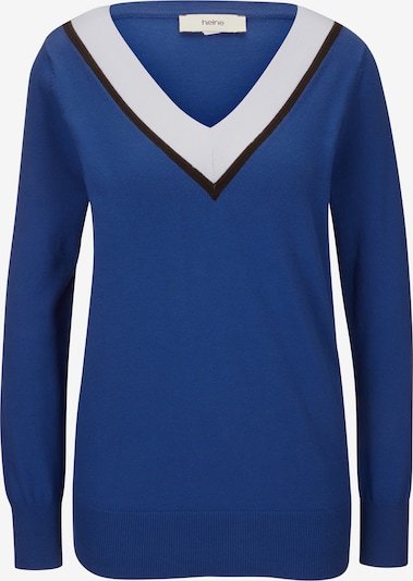 Pulover heine pe albastru royal, Vizualizare produs