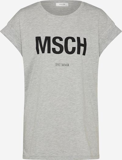 MOSS COPENHAGEN Shirt 'Alva' in grau / schwarz, Produktansicht