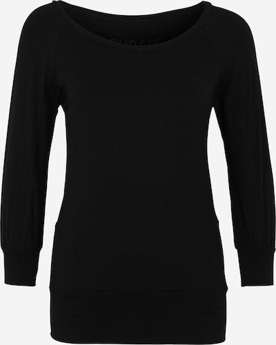 CURARE Yogawear Koszulka funkcyjna 'Flow' w kolorze czarnym, Podgląd produktu