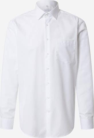 SEIDENSTICKER Businesskjorte i hvit