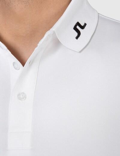 J.Lindeberg Poloshirt in weiß, Produktansicht