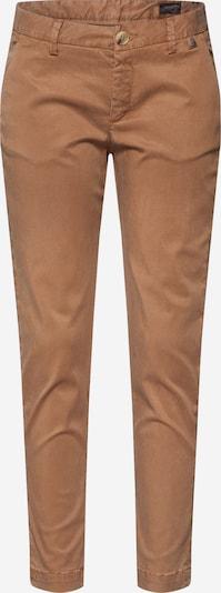 Herrlicher Pantalon chino 'Lovely Satin' en beige, Vue avec produit