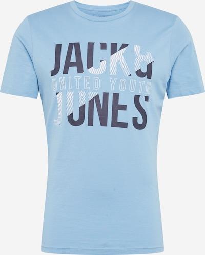 JACK & JONES Koszulka 'Koral' w kolorze niebieskim: Widok z przodu