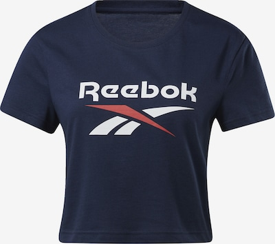 Reebok Classic Shirt in blau / weiß, Produktansicht