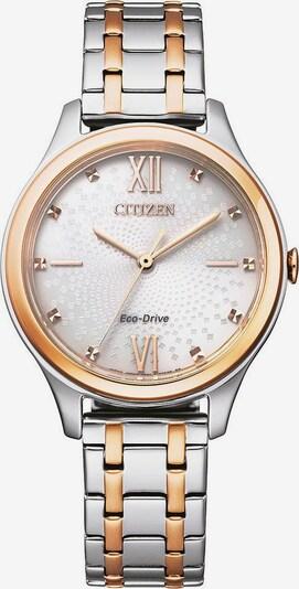 CITIZEN Uhr in gold / silber / weiß, Produktansicht