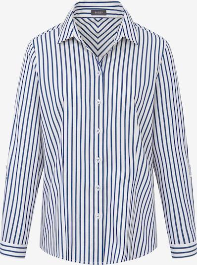 Basler Bluse in blau / weiß, Produktansicht