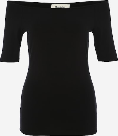 modström Off-Shoulder Shirt 'Tansy' in schwarz, Produktansicht