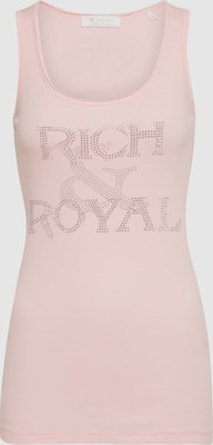 Rich & Royal Top in Rosa