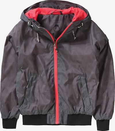 Kilmanock Übergangsjacke in grau / rot, Produktansicht