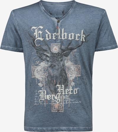 STOCKERPOINT Shirt 'Berghero' in taubenblau, Produktansicht