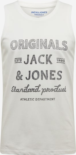JACK & JONES Shirt 'JORPANAMA TANK TOP' in de kleur Wit / Natuurwit, Productweergave