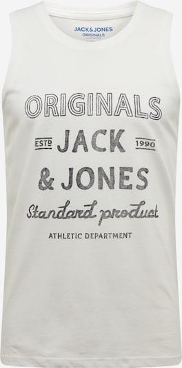 JACK & JONES T-Krekls 'JORPANAMA TANK TOP' pieejami balts / dabīgi balts, Preces skats