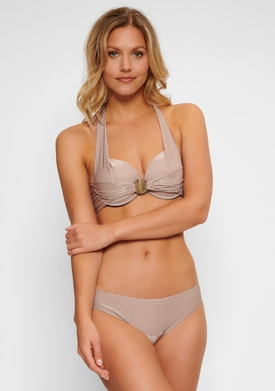 LingaDore Bikini in taupe, Modelansicht
