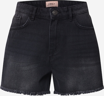 ONLY Jeansshorts 'KELLY' in schwarz / black denim, Produktansicht