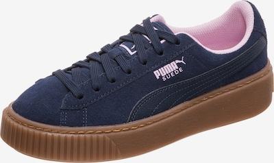 PUMA Sneaker 'Suede' in navy / rosa, Produktansicht