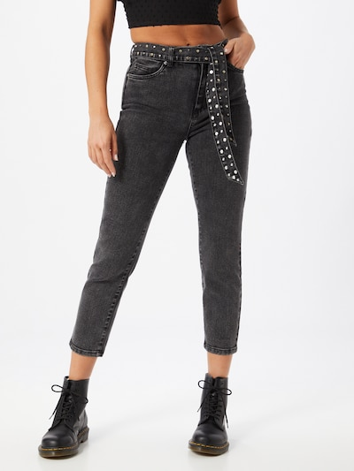 ONLY Jeans 'Wild Emily Life' in black denim: Frontalansicht
