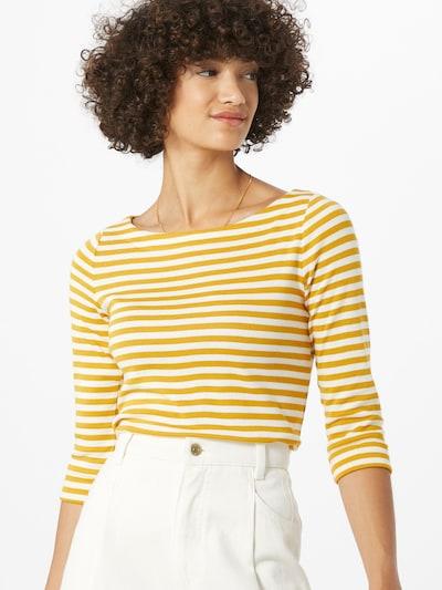 ESPRIT Tričko - žltá / biela: Pohľad spredu