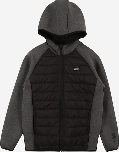 Jack & Jones Junior Jacke in dunkelgrau / schwarz, Produktansicht