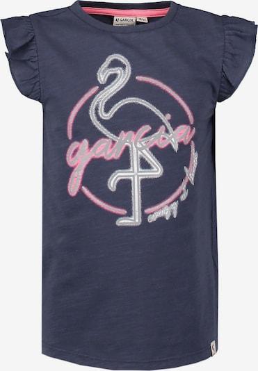 GARCIA T-Shirt in rauchblau / rosa, Produktansicht