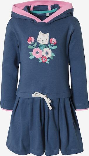 SIGIKID Kleid in creme / dunkelblau / mint / rosa, Produktansicht
