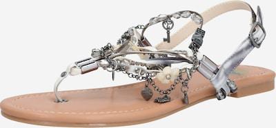 BUFFALO Sandale 'JILLY' in grau / silber, Produktansicht