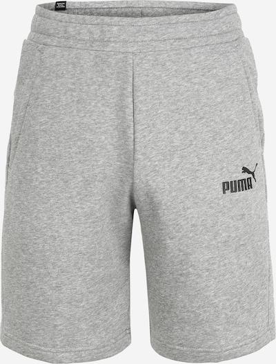 szürke melír / fekete PUMA Sportnadrágok, Termék nézet