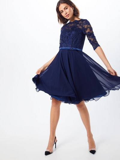 mascara Kleid in navy, Modelansicht