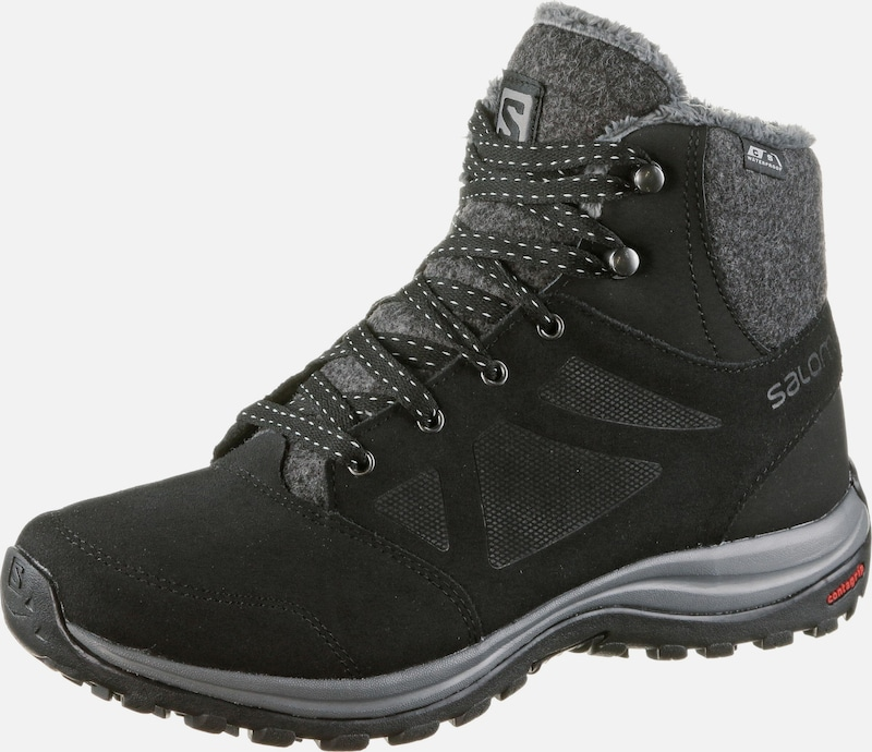 SALOMON Winterschuhe 'Ellipse Freeze CS WP' in grau / schwarz, Produktansicht