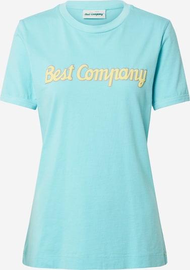 Best Company Shirt in blau, Produktansicht