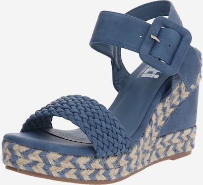 Xti Sandalen in blue denim, Produktansicht