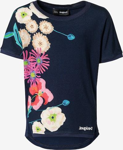 Desigual T-Shirt in blau, Produktansicht