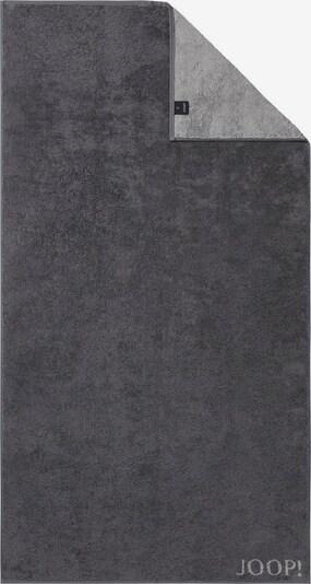 JOOP! Duschtuch 'Doubleface' in grau / dunkelgrau, Produktansicht