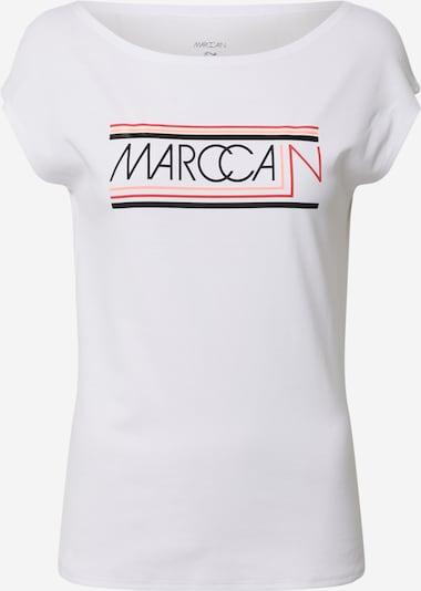Marškinėliai iš Marc Cain , spalva - rožių spalva / raudona / juoda / balta, Prekių apžvalga
