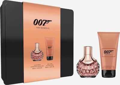 James Bond 007 Geschenk-Set in pfirsich / schwarz, Produktansicht