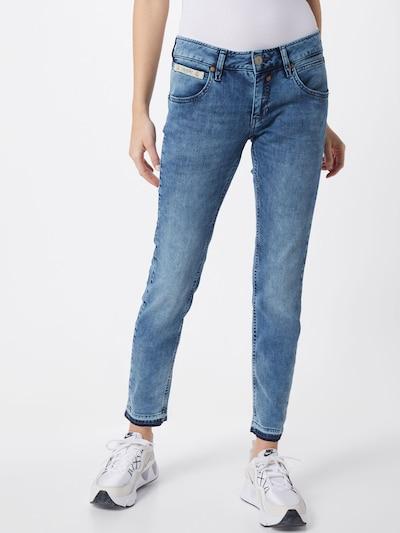 Herrlicher Jeans 'Touch Cropped' in blue denim, Modelansicht