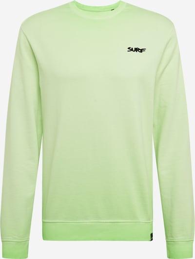Only & Sons Sweatshirt in de kleur Neongroen, Productweergave